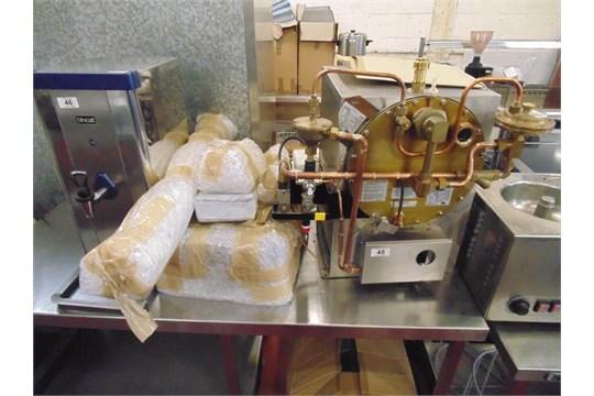 Hobart BRG 200C under counter water boiler gas heated 59,000 btu/hr ...
