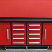 Lot 101 - STEELMAN Work Bench/ 7FT-10D-2