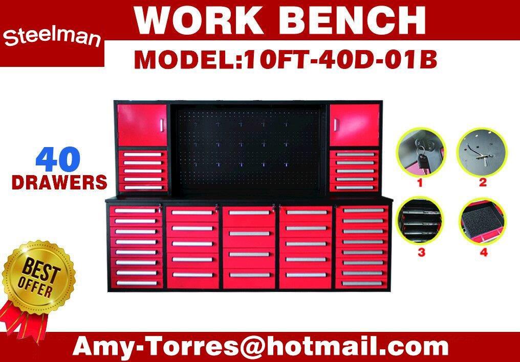 Lot 108 - STEELMAN Work Bench /H7FT-40D