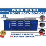 STEELMAN Work Bench/ 10FT-15D-2