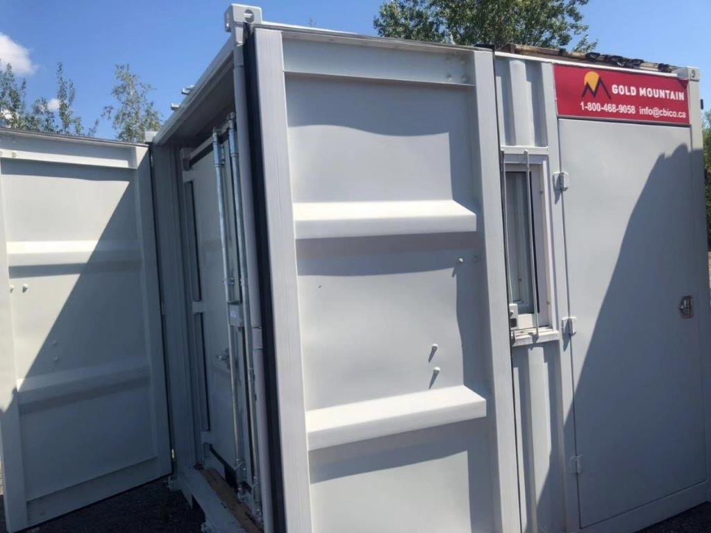9' Small Container With Door & Window (9' x 7'3'' x 8'2''H) - Image 4 of 9