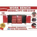 STEELMAN Work Bench/ 7FT-10D-2