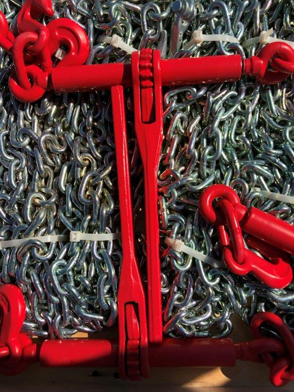 Lot 115 - Ratchet binder and chain