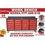 STEELMAN Work Bench /7FT-20D