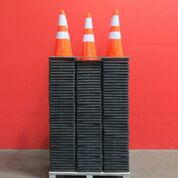 Lot 131 - LOT: (100) UNUSED 2019 Safety Highway Cones