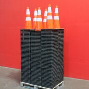 Lot 132 - LOT: (250) UNUSED 2019 Safety Highway Cones