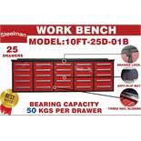 STEELMAN Work Bench / 10FT-25D