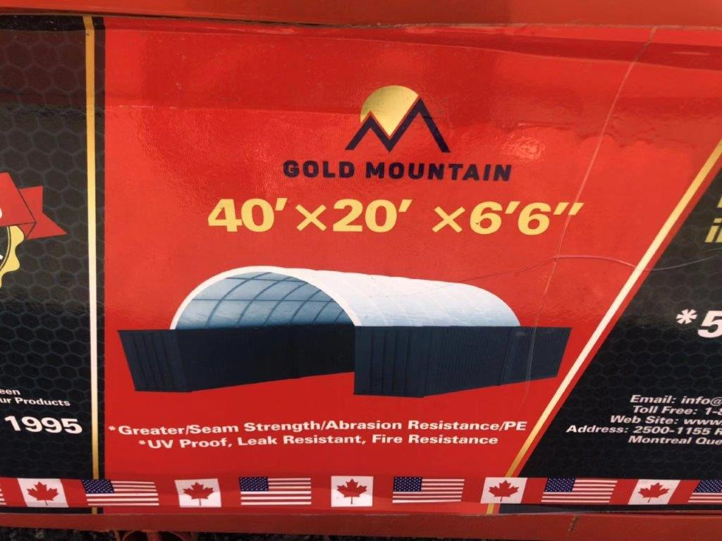 Lot 119 - GOLDEN MOUNT Container Shelter