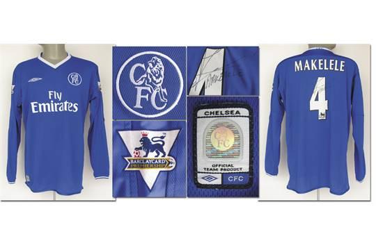 separation shoes 1d4eb d2026 match worn football shirt FC Chelsea 2003/04 - Original ...