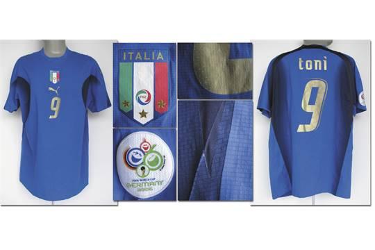 9bf7aa6c258 World Cup 2006 match worn football shirt Italy - Original match worn ...