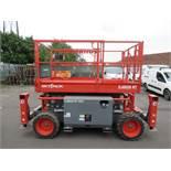 Skyjack SJ6826RT diesel scissor lift platform