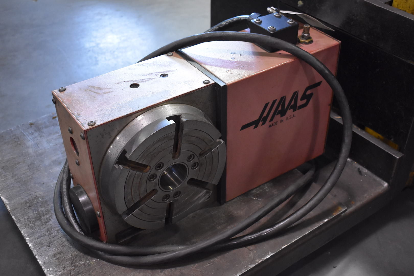 HAAS 4TH AXIS