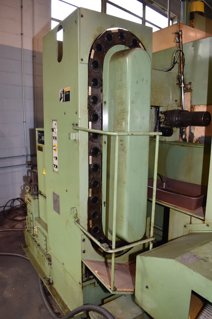 Lot 220 - Mori Seiki Model MH-40 CNC Horizontal Machining Center, S/N 76 (1984), Fanuc System 11-M Control,