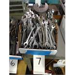LOT: Assorted Open End Wrenches