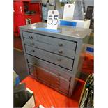 LOT: (2) Huot Drill Cabinets, with Assorted Drills