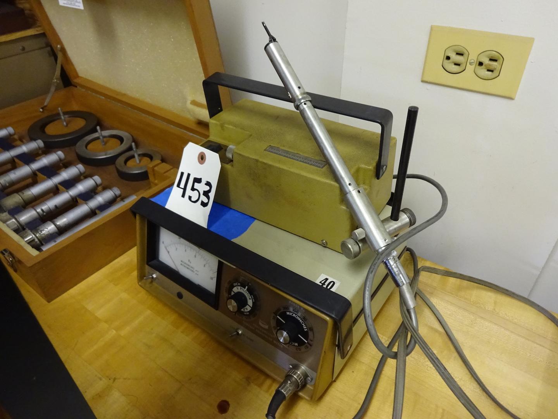 Lot 453 - Bendix Profilometer Surface Roughness Meter