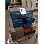 LOT: Assorted Tool Boxes (empty)