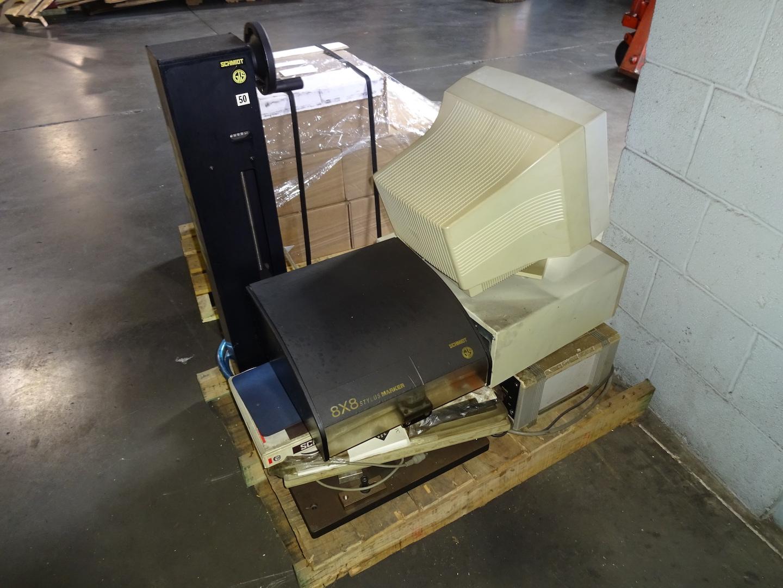 Lot 622 - Schmidt Model 8X8 Marking Machine, S/N 11397
