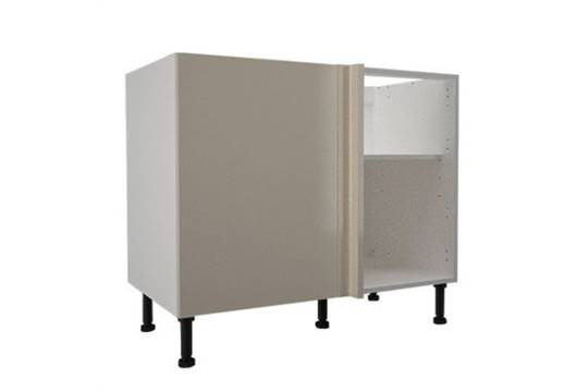 1000mm corner base cabinet with 1x 400mm hiline door for Kitchen cabinets 1000mm