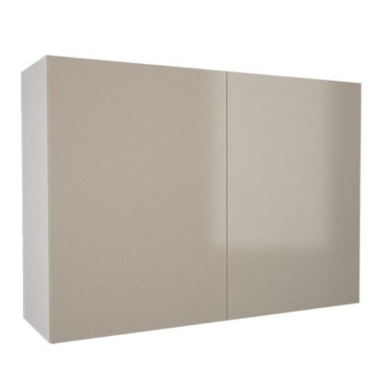 800mm wall cabinet with 2x hiline doors 720mm high 300mm for Kitchen cabinets 800mm
