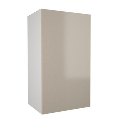400mm Wall Cabinet With Hiline Door 720mm High 300mm Deep White Kitchen Cabinet With Cream