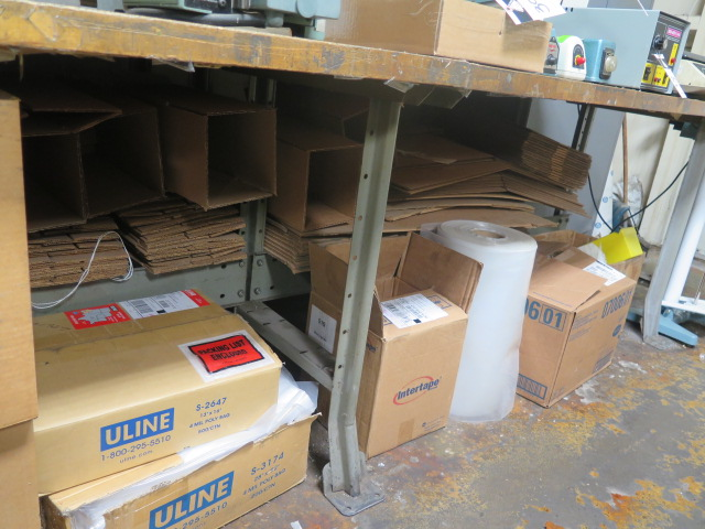 Lot 44 - Shipping Supplies Boxes, Paper, Tape amd Misc