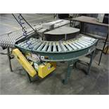 Hytrol 90 Degree conveyor, SN 511675, with reject station 60 in. long x 12 in. wide, with gravity co