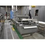 APV wire cut, Model 021236, SN 001, 35 in. wide, paper slitter, paper cutter, control panel, work pl