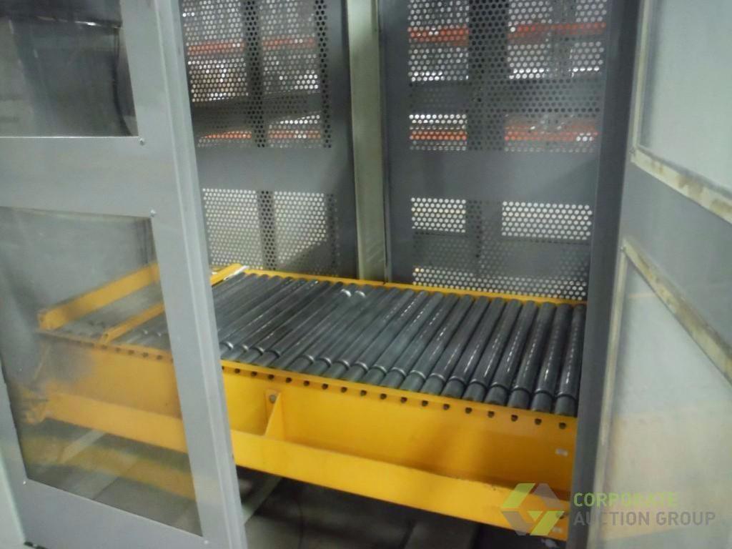 Lot 56 - Top tier palletizer, SN 061002, Allen-Bradley PanelView Plus 600, 5 vfds ** Rigging Fee: $ 1800** (L