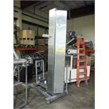 MTC SS bowl lift, Model HLC-2, SN 622262, 113 in. lift, capacity 800 lbs. ** Rigging Fee: $ 200** (L