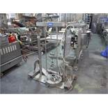 Endisys sanitary ram unloader, series A12A, 19 in. dia. [Lot offered subject to seller confirmation,
