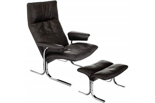 Lounge Sessel Und Hocker Quot De Sede Quot Modell Ds 2030 Hans