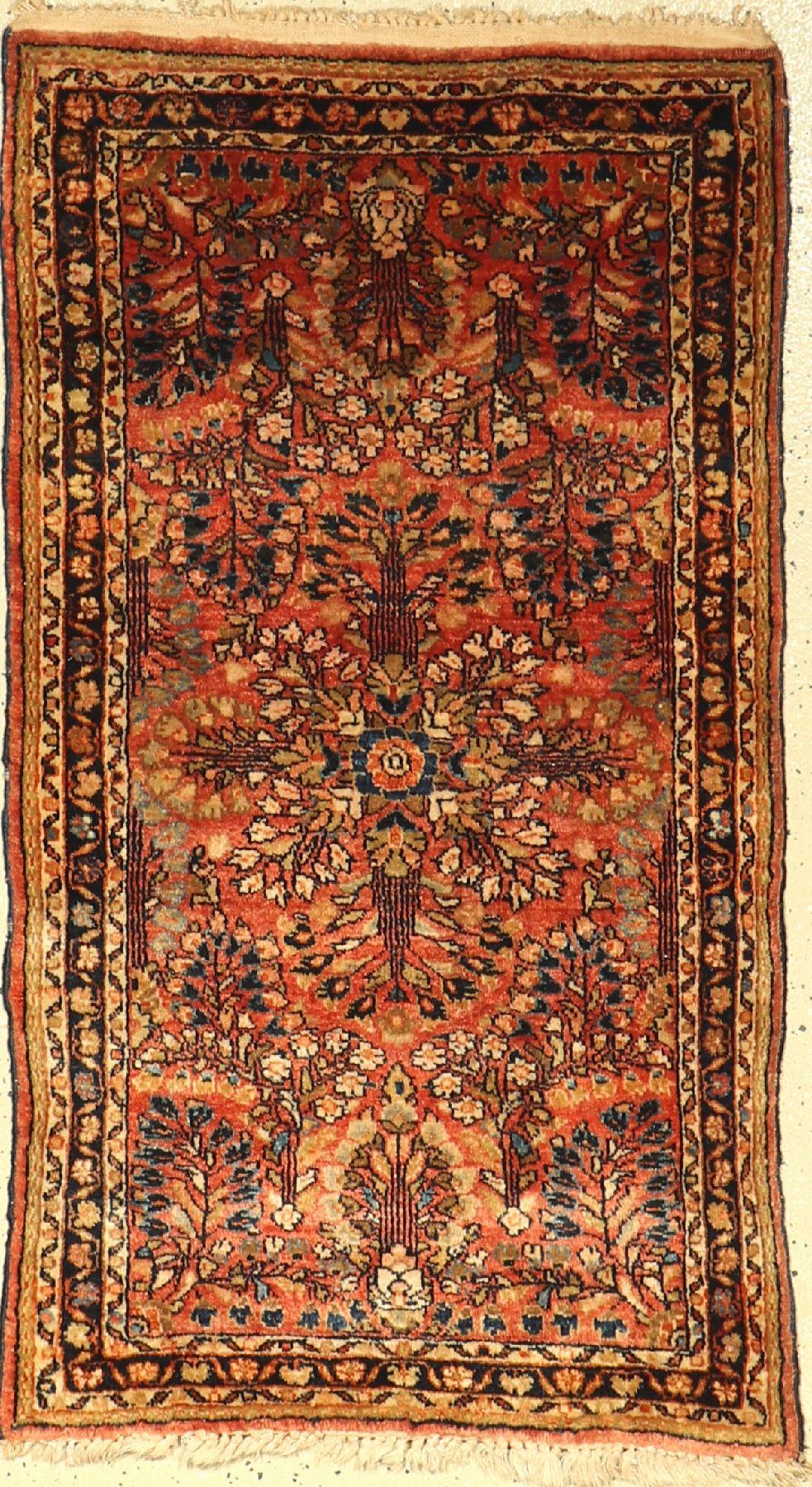 Sarogh alt, Persien, um 1940, Wolle auf Baumwolle, ca. 112 x 64 cm, EHZ: 2-3