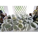 An extensive collection of late 19th and early 20th century jelly models of various design including