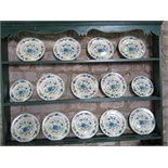 An extensive collection of Masons Regency pattern dinner, tea and coffee wares comprising: a two