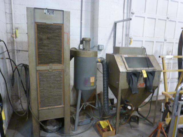 Trinco Dry Blast Cabinet, m/n 36/450DLX