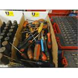 Lot of Misc Screw Drivers
