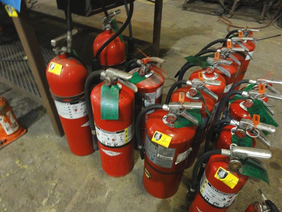 Lot 3 - Fire Extinguishers