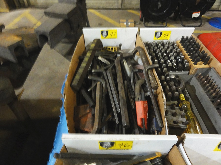Lot 45 - Lot of Allen Wrenches