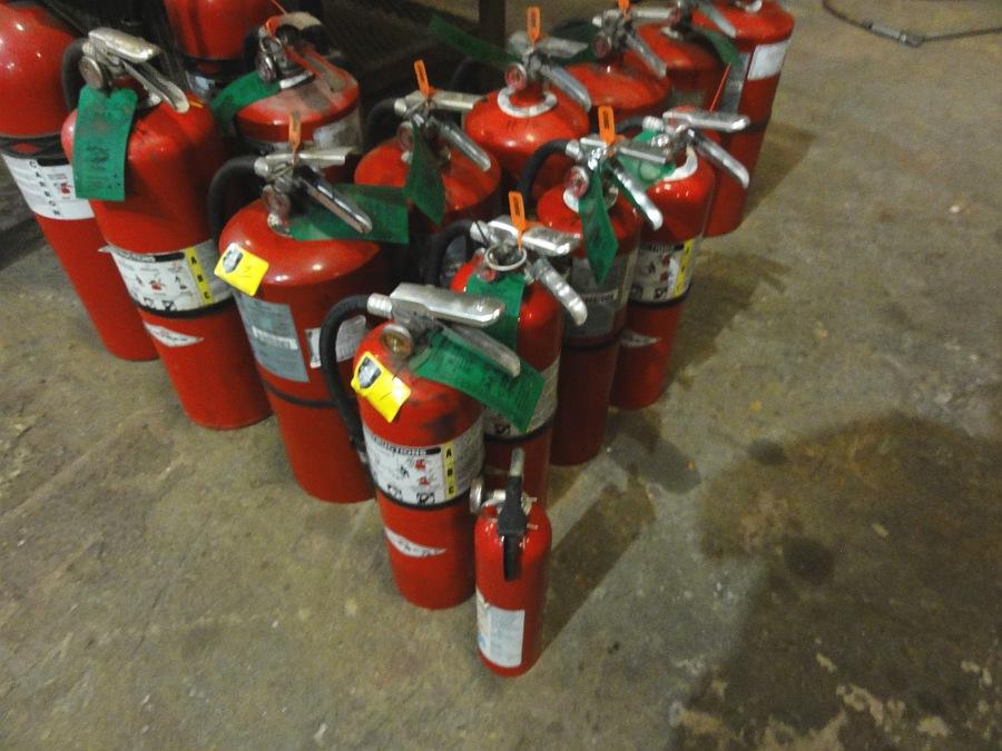 Lot 1 - Fire Extinguishers