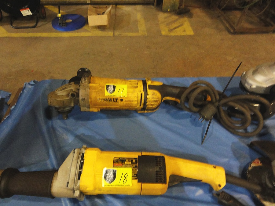 Lot 17 - Large DeWalt Angle Grinder