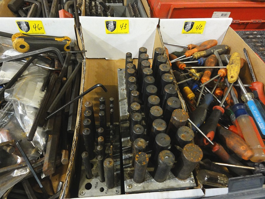 Lot 43 - Lot of Center Punches