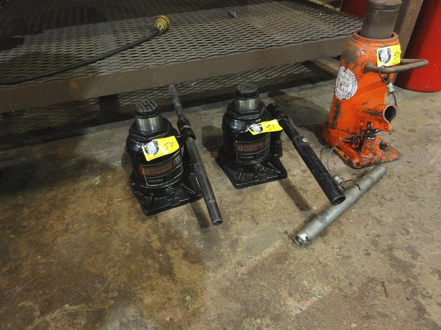 Lot 52 - 20 ton Hydraulic Jack