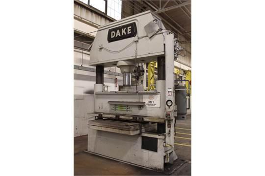 Dake Model 18-498 300 Ton 2-Post Hydraulic Press