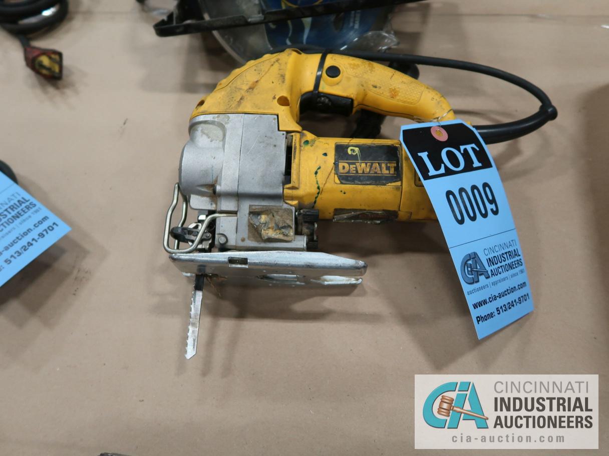 DEWALT MODEL DW317 ELECTRIC ORBITAL JIG SAW