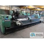 """24"""" X 16' SOUTH BEND ROLL GRINDER; S/N 118AM, 500 RPM, 22"""" 4-JAW CHUCK, TAILSTOCK, GRINDER"""
