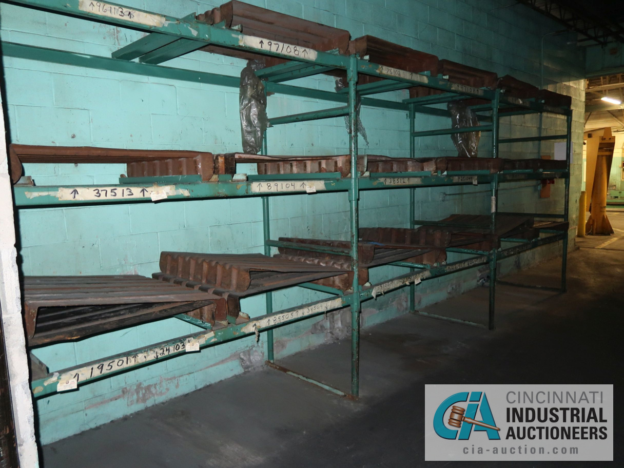 (LOT) TUBULAR FRAME RACK IN (2) ROOMS, APPROX. (17) SECTIONS WITH METAL SKIDS - Image 4 of 4