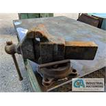 """37"""" X 54"""" HD STEEL TABLE WITH VISE"""