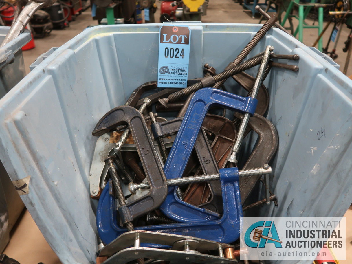 (LOT) C-CLAMPS