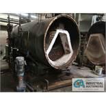 ORR & SEMBOWER POWERMASTER 3015001 STEAM BOILER; S/N 5612553, 125-HP, 4M BTU/HR